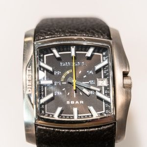 Men's Black Diesel Watch DZ1178